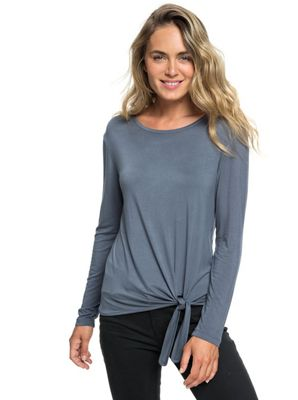 Roxy Women's Make Me Smile Women LS Top