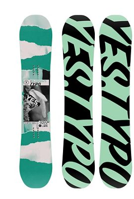 Yes Men's Typo Snowboard
