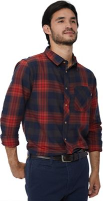 Tentree Men's Fergus LS Button Up Buffalo Top