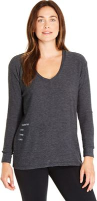 good hYOUman Women's Robin LS Vneck Sweater