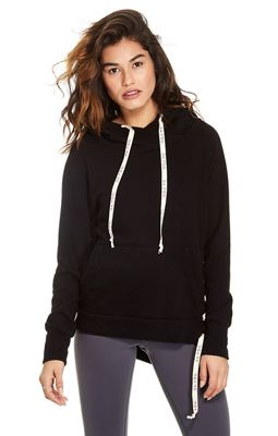 good hYOUman Women's Tina Side Tie Hoodie