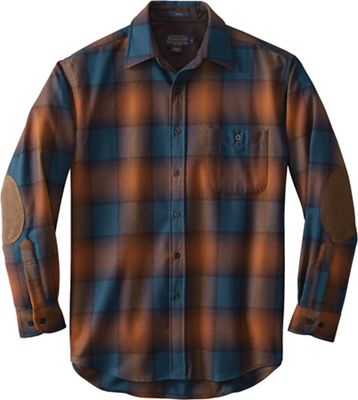 Pendleton Men's Long Sleeve Trail Shirt w/ Elbow Patch