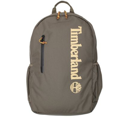 Timberland Zip Top Linear Logo Backpack