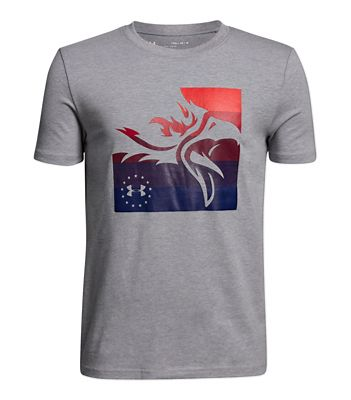 Under Armour Tactical Boys' USA Eagle SS Tee