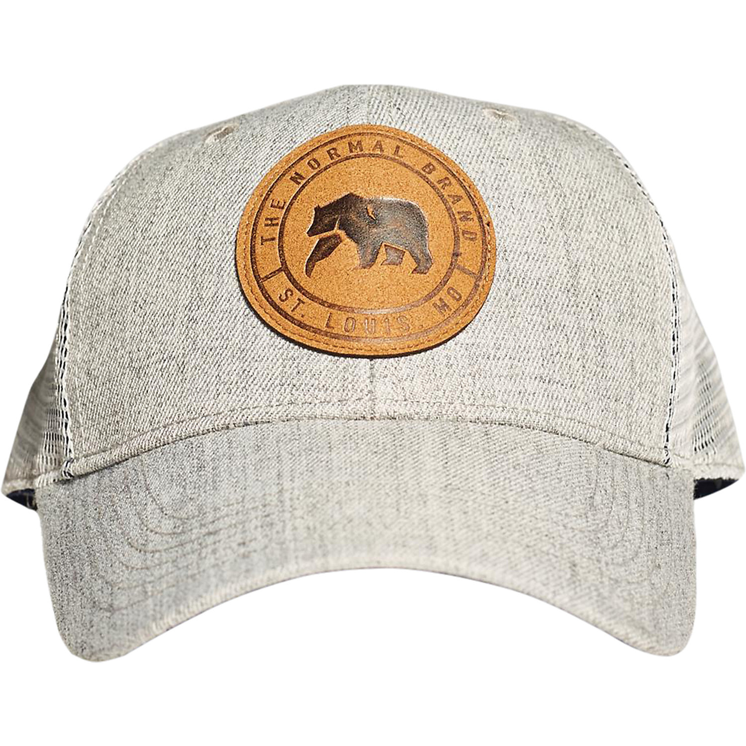 The Normal Brand Leather Patch Trucker - Moosejaw 6cd8a3f766f