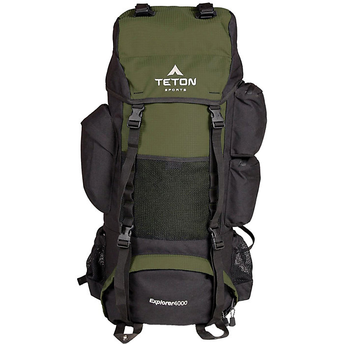Metallic Silver TETON Sports Explorer 4000 Internal Frame Backpack