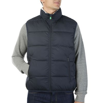 Save The Duck Men's Recycled Collection Reversible Vest