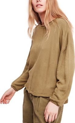Free People Women's Be Good Terry Pullover