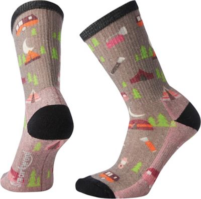 Smartwool Women's Hike Light Summer Nights Print Crew Sock