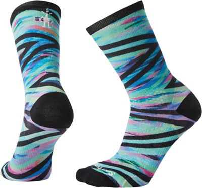 Smartwool Women's PhD Run Ultra Light Print Crew Sock