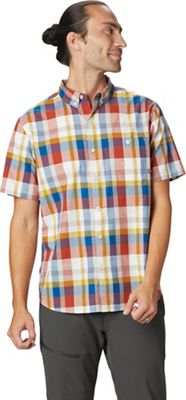 Mountain Hardwear Men's Big Cottonwood SS Shirt