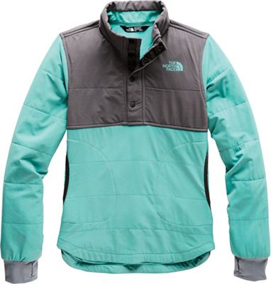 The North Face Girls' Mountain 1/4 Snap Sweatshirt