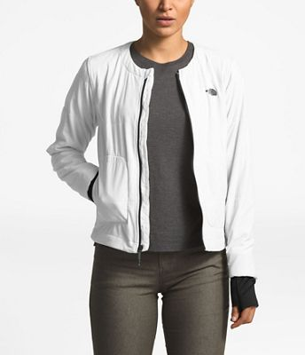 The North Face Women's Mountain Sweatshirt Collarless Full Zip Jacket