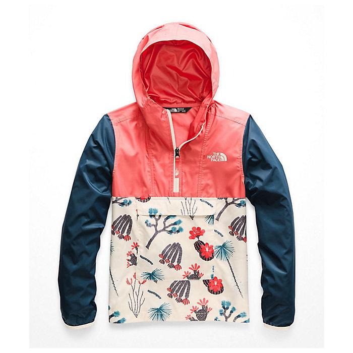 d92856c89 The North Face Girls' Novelty Fanorak Jacket