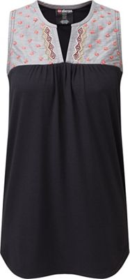Sherpa Women's Maya Embroidery Sleeveless Top