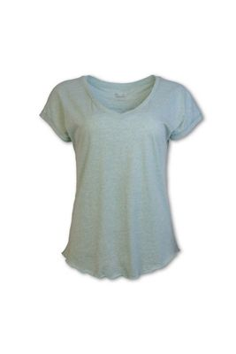 Purnell Women's Heathered Purl Stitch Tee