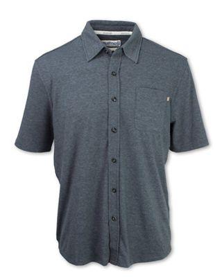 Purnell Men's Performance SS Knit Button Up Shirt