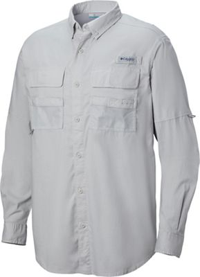 Columbia Men's Half Moon LS Shirt