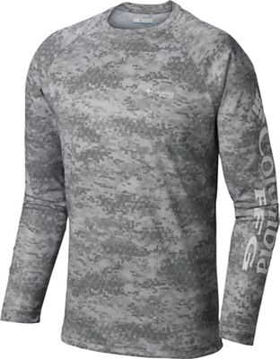 Columbia Men's Terminal Deflector Printed LS Shirt