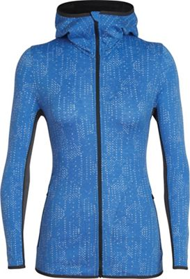 Icebreaker Women's Away LS Zip Hoodie - Showers