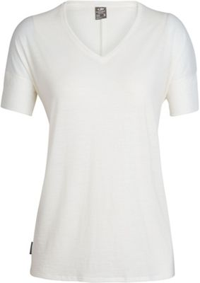 Icebreaker Women's Solace SS V Neck Top