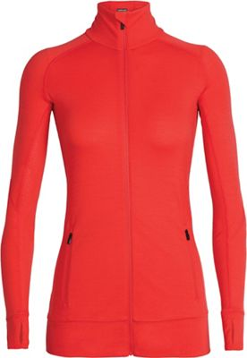 Icebreaker Women's Fluid Zone LS Zip Top