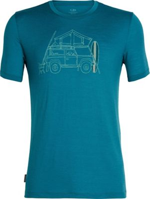 Icebreaker Men's Tech Lite SS Crewe - Surfspot Camper