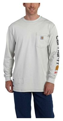 Carhartt Men's Flame Resistant Force Cotton Graphic LS T-Shirt