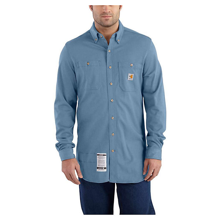 6f34502eefcee Carhartt Men's Flame Resistant Force Cotton Hybrid Shirt - Moosejaw