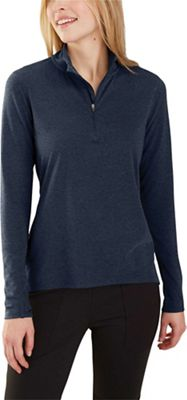 Carhartt Women's Force Delmont Quarter Zip Shirt