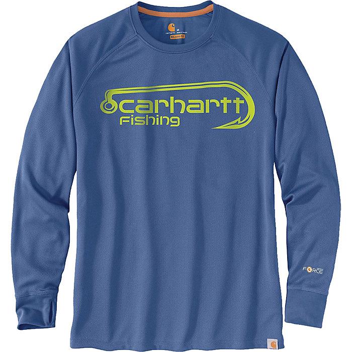 ca93fadd4 Carhartt Men's Force Fishing Graphic LS T-Shirt - Moosejaw