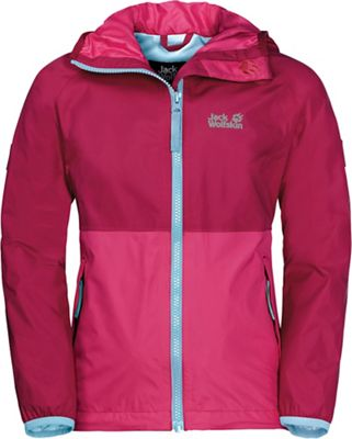 Jack Wolfskin Girls' Rainy Days Jacket