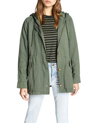 Sanctuary Women's Commodore Hooded Anorak Jacket