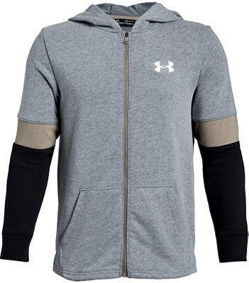 Under Armour Boys' Rival Terry Full Zip Top