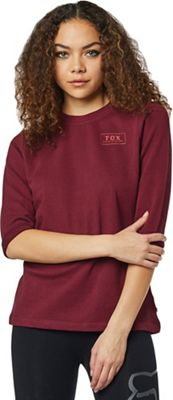 Fox Womens's Heater 3/4 Crew Fleece