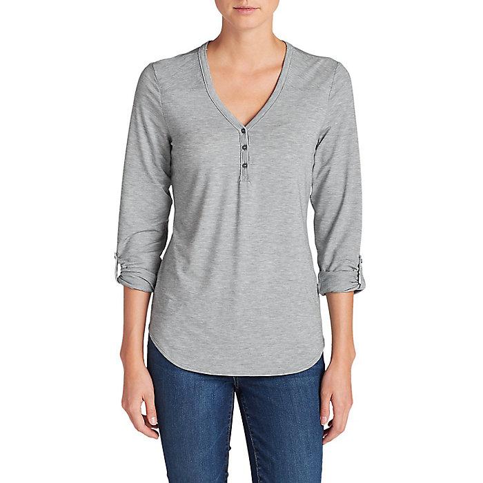 3ae4ef6fb96a4 Eddie Bauer Travex Women s Mercer Knit Henley Shirt - Moosejaw