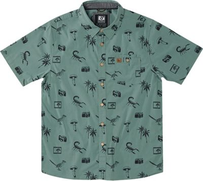 HippyTree Men's Palms Woven Shirt