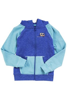 United By Blue Youth Adventure Awaits Zip Up Hoodie