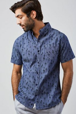 4f7d15f3 United By Blue Men's Grove SS Button Down Shirt