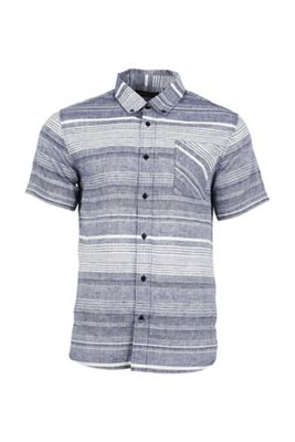 United By Blue Men's Ridgerunner SS Stripe Button Down Shirt