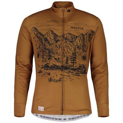 Maloja Men's SerlasM. Longsleeve 1/2 Bike Jersey