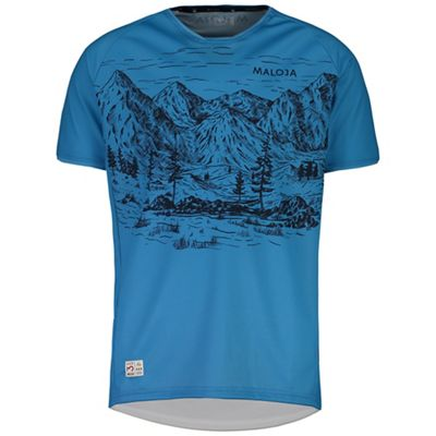 Maloja Men's SerlasM. Multi 1/2 Short Sleeve Jersey