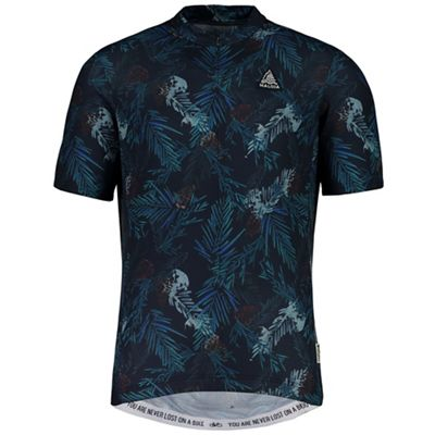 Maloja Men's TaraspM. 1/2 Short Sleeve Bike Jersey