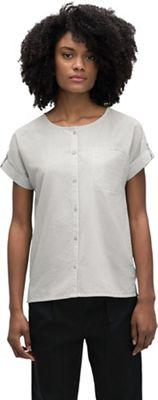 Nau Women's Bloq Button Up SS Shirt