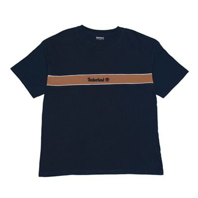 Timberland Men's Stripe Box Tee