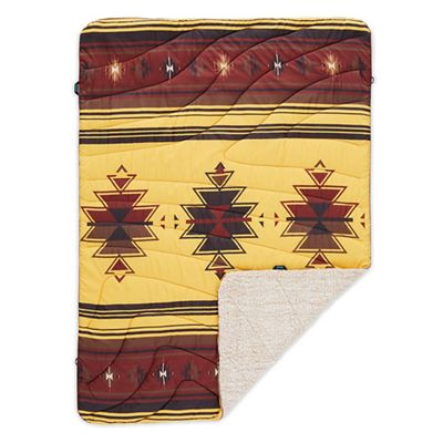 Rumpl Printed Sherpa Fleece Throw Blanket
