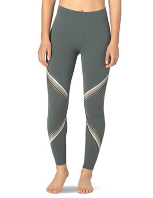 5c165d701214d7 Beyond Yoga Women's Get Your Filament High Waisted Long Legging. GREEN;  BLACK