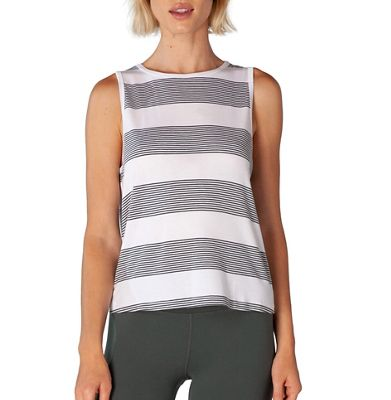 Beyond Yoga Women's Plain and Simple Cropped Tank