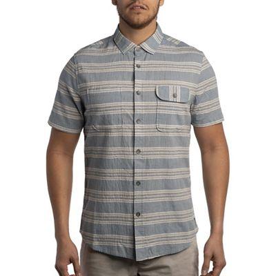 Jeremiah Men's Medford Crinkle Stripe Top