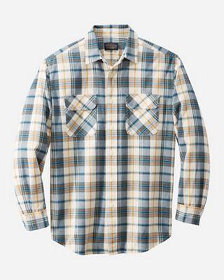Pendleton Men's Long Sleeve Beach Shack Twill Shirt